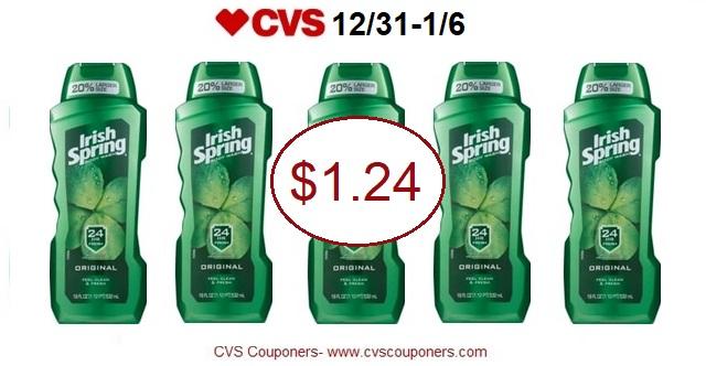 http://www.cvscouponers.com/2017/12/irish-spring-body-wash-only-124-at-cvs.html