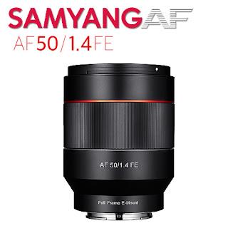Автофокусный объектив Samyang FE 50mm f/1.4 AF