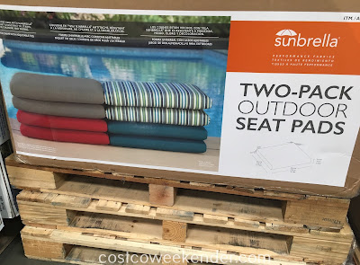Sunbrella Outdoor Seat Pads - Functional yet decorative