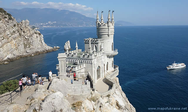 SWALLOWS NEST CASTLE - YALTA - UKRAINE