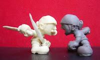orme magiche zoro one piece nendoroid modellini statuette sculture action figure personalizzate fatta a mano super sculpey