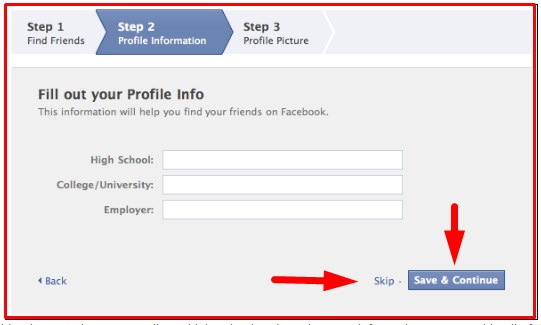 facebook create new account now