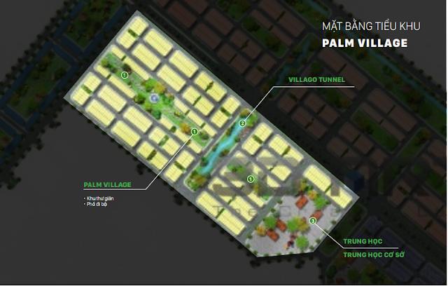 Mặt bằng phân khu Palm Village
