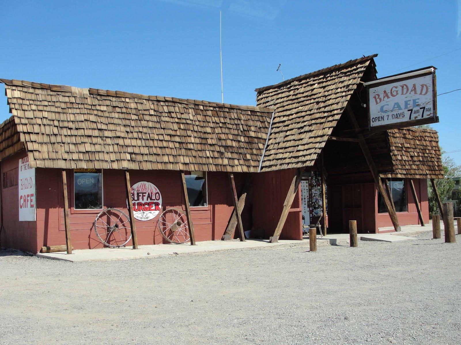 Cafe La La Bagdad Cafe In Newberry Springs Ca
