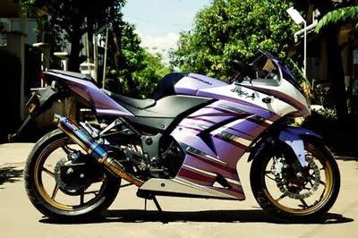 Foto Koleksi Motor Kawasaki Ninja