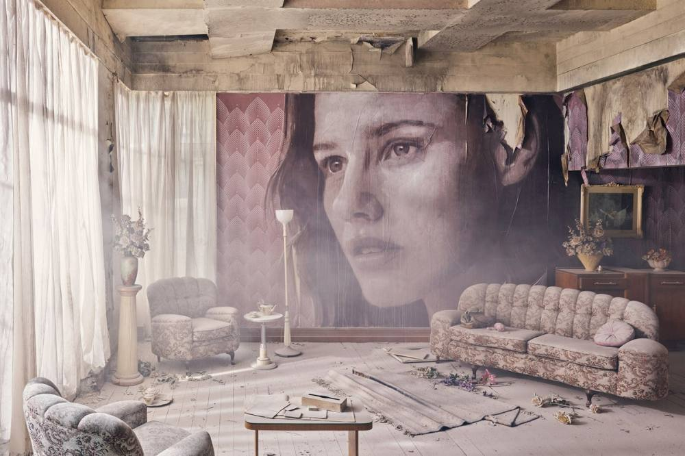 British Street Artist Turned an Old Abandoned House into an Art Object