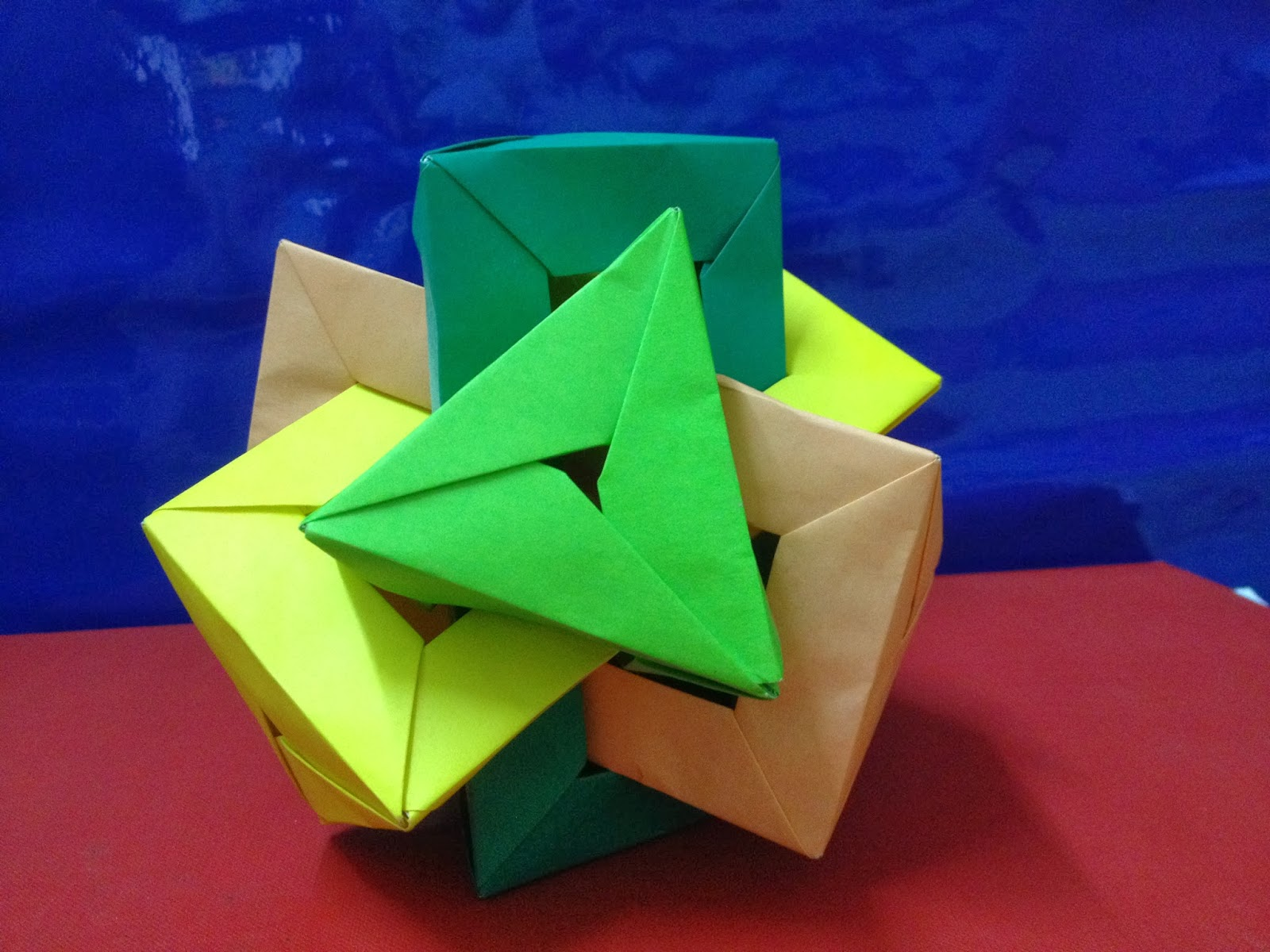 Icosahedron Stellations by Daniel Kwan   1200x1600