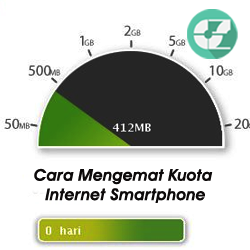 Cara Mengemat Kuota Internet Smartphone