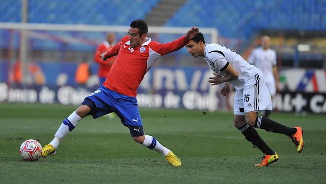Chile y Egipto en partido amistoso, 6 de febrero de 2013