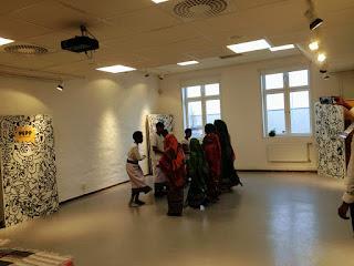 Afrikansk dans på Familjelördag