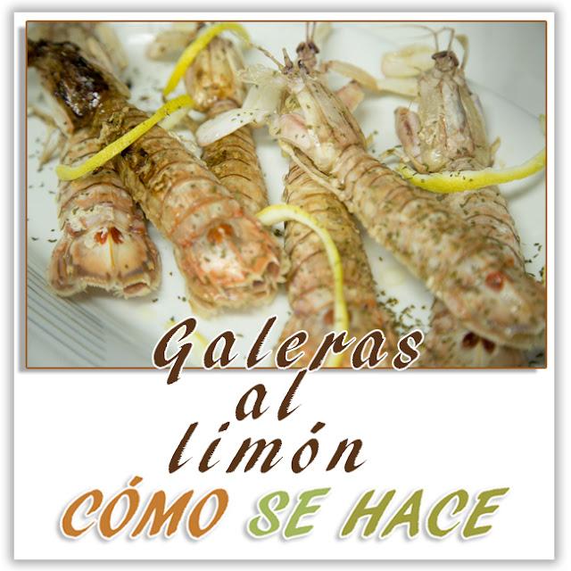 GALERAS AL LIMÓN