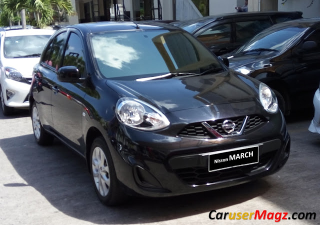 Nissan March Facelift 2014