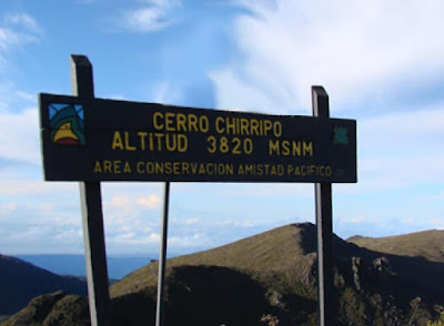 Sommet du parc national de Chirripo au COsta Rica.