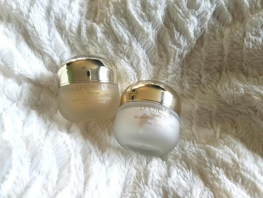 D'OR24K Multi-Vitamin Recovery Day Cream and Facial Peel