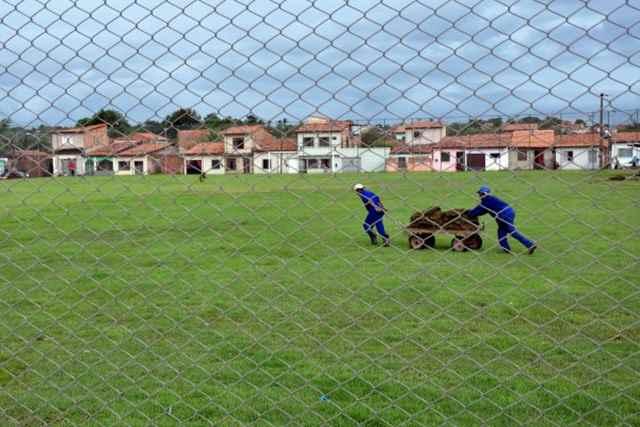 Prefeitura de São Luís está finalizando a obra do Estádio Cardosão
