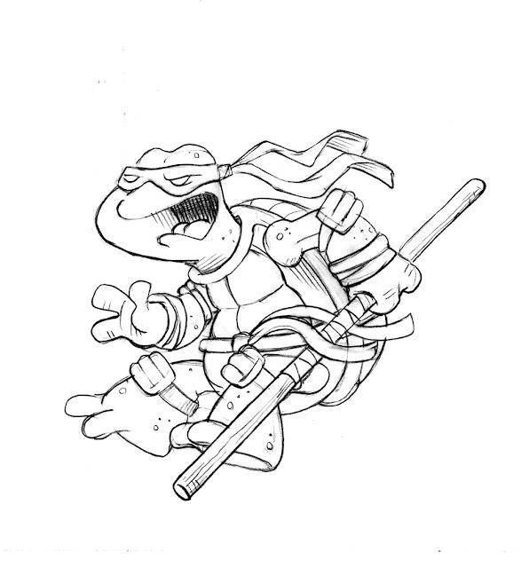 Drawn Ninja Powerful