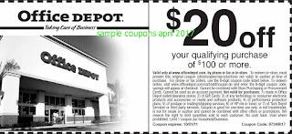 free Home Depot coupons april 2017