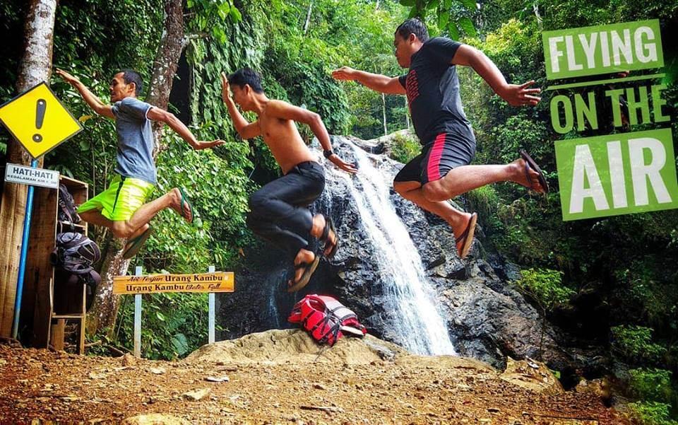 Berenang di Jurug Urang Kambu