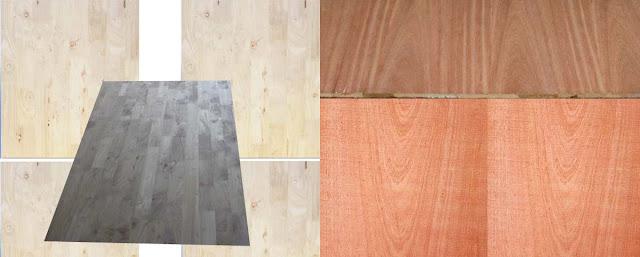 gỗ ghép phủ veneer xoan đào