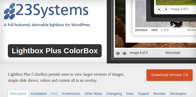 10 Amazing jQuery LightBox Plugins for WordPress
