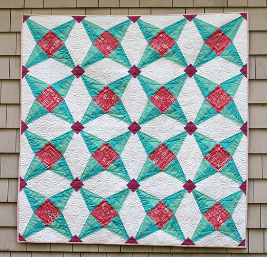 Fruit Ninja Star Quilt Free Pattern