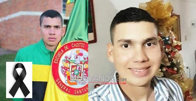 Muere otro cadete víctima del atentando en Escuela General Santander