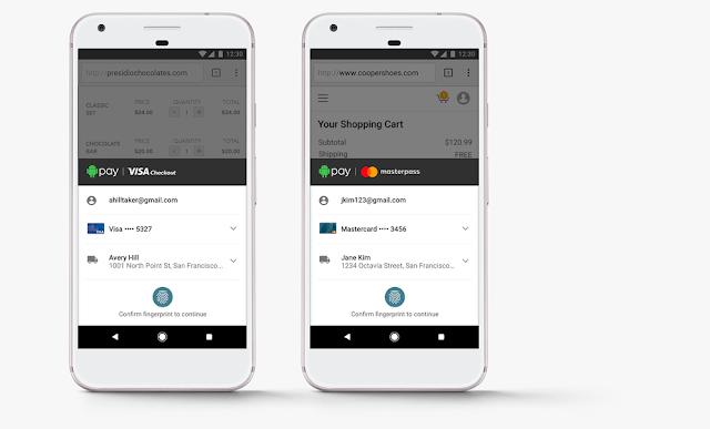 Google 宣佈 Android Pay 與 Visa/Mastercard 策略合作!