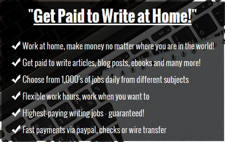 Writing Jobs 2017 | Get Paid To Write Online | $187 Per Sale