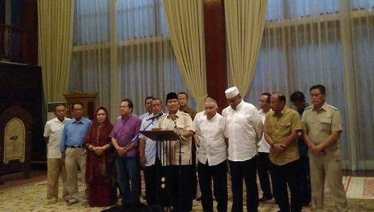 Bachtiar Nasir Jadi Tersangka, Prabowo Sebut Upaya Kriminalisasi Ulama dan Terkait Ijtima Ulama 3