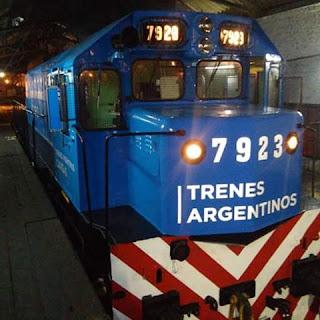 Reparan locomotora Diesel en Concordia