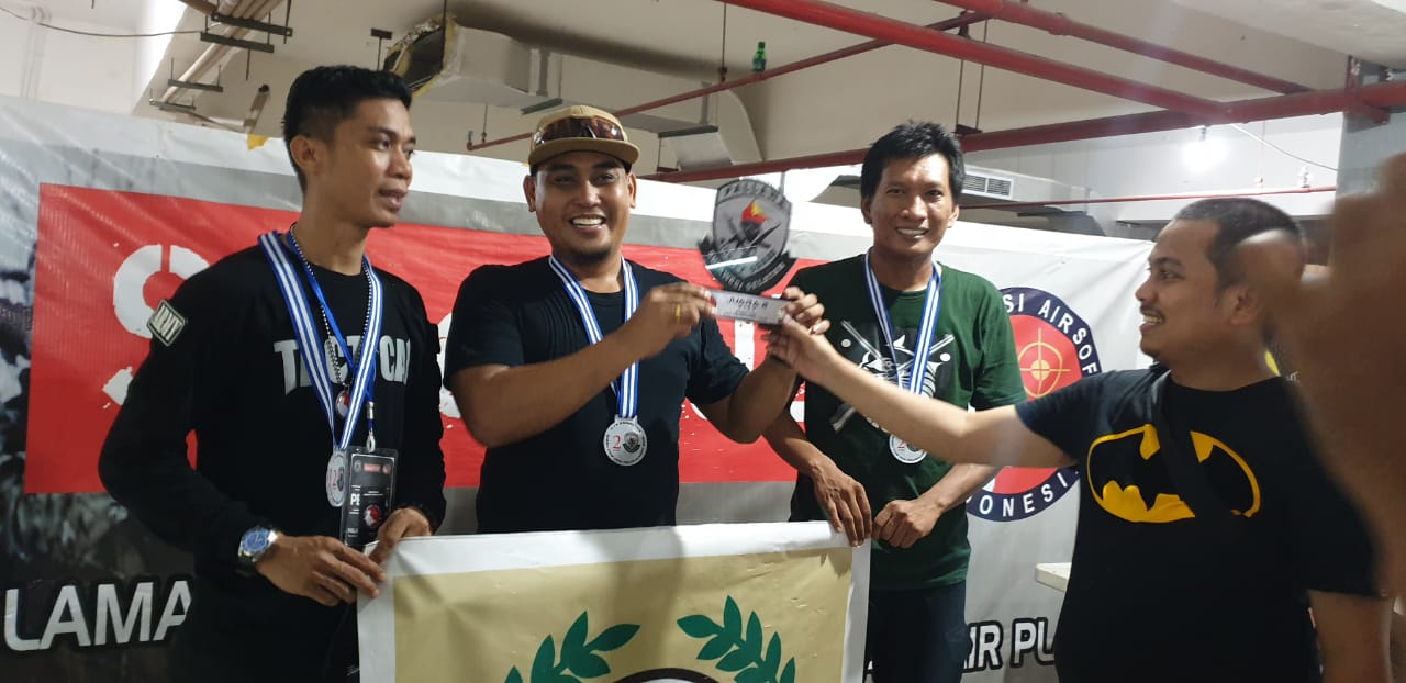 Laskar Ganggawa Sidrap Raih Juara II Nasional di Turnamen 3 On 3 Speed CQB
