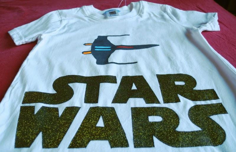 Ben noto Voglio Una Mela Blu: Magliette Star Wars fai da te con freezer  NL85
