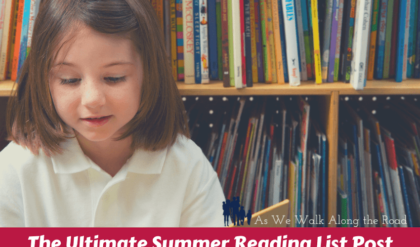 The Ultimate Summer Reading List Post...Includes FREE Printable Lists and Reading Records