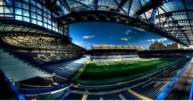 Estádio Stamford Bridge do Chelsea - Inglaterra