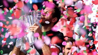 TENIS (Masters 1000 Indian Wells 2018) - Juan Martín del Potro corta la buena racha de Federer y suma su primer Masters 1000