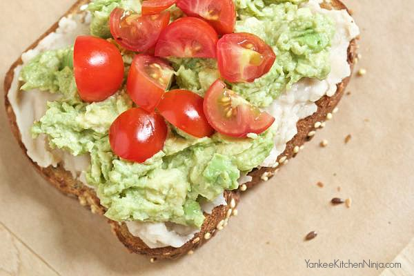 Protein packed white bean and avocado toast