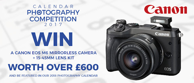 Win a Canon EOS M6 mirrorless camera + lens kit worth over £600 in the Park Cameras October Calendar Photography Competition
