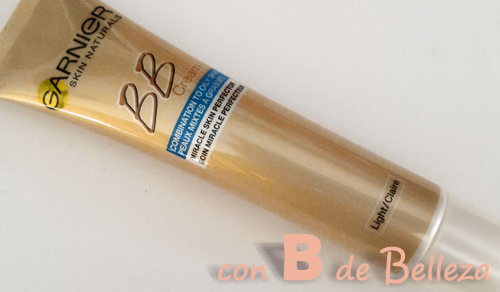 Review crema con color sin brillos