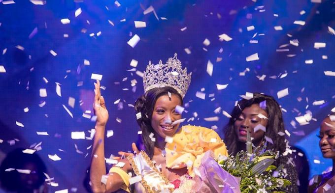 Akpene Diata Hoggar wins Miss Universe Ghana 2018