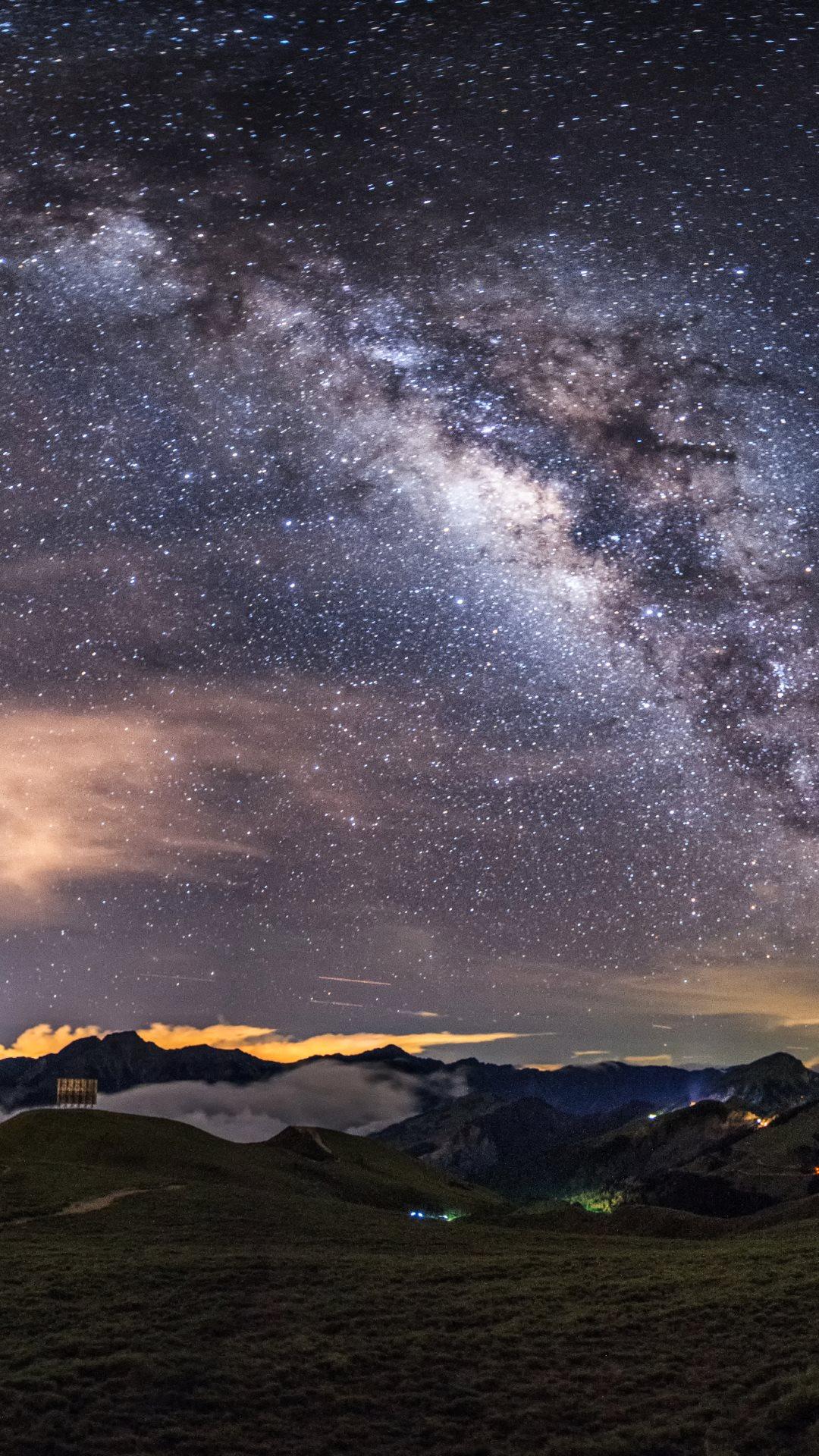 Hd wallpaper for smartphone - 4k Hd Wallpaper Milky Way On The Night Sky