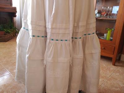 enaguas ropa baturra