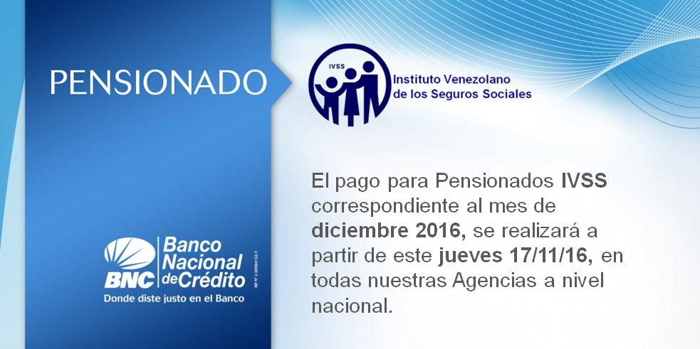 Pago de pensionados IVSS correspondiente al mes de diciembre sera a partir de este jueves 17 de noviembre