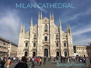 Holy Week spent at Milan Cathedral in Italy - Abby Travels