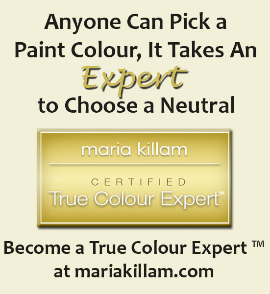 MARIA KILLAM:  TRUE COLOUR EXPERT
