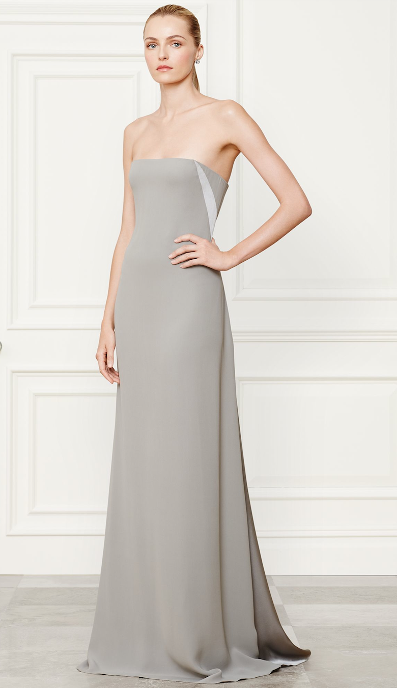 Ralph Lauren Naomi Evening Gown Fall 2014 Collection