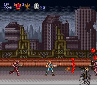 CONTRA 3 THE ALIEN WARS Cover Photo