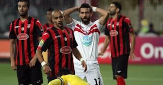 اهداف وملخص مباراة الزمالك واتحاد العاصمة اليوم 2-6-2017 الزمالك 1-1 اتحاد العاصمة