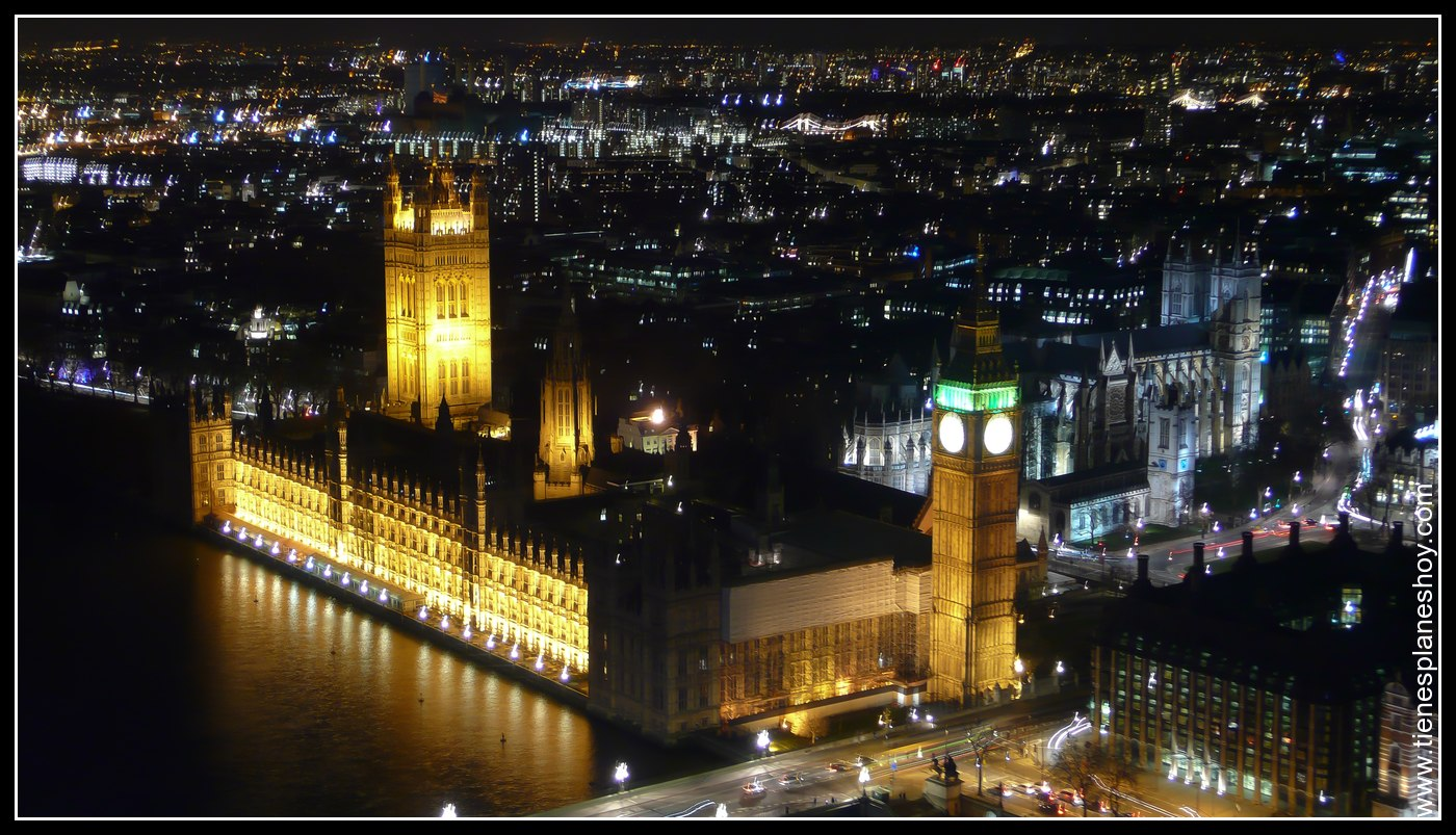 Vistas desde London Eye Londres (London)