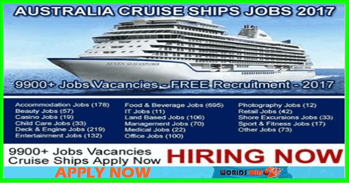 Australia Cruise Ship Jobs