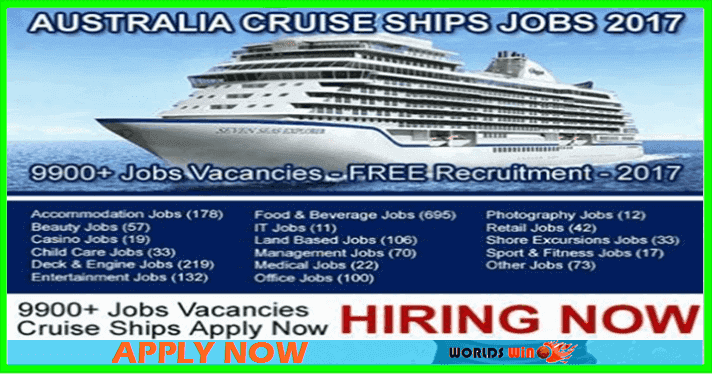Cruise Ship Jobs In Australia Apply Now